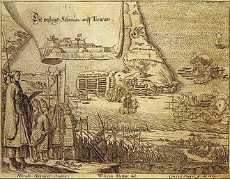 Siege of Fort Zeelandia - Image: Surrender of Fort Zeelandia