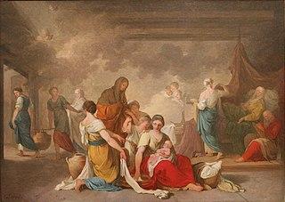 Naissance de la Vierge (esquisse).