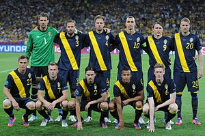sports shoes 9850a eac13 Sweden national football team - Wikipedia