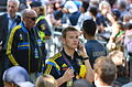Sweden national under-21 football team, Euro 2015 celebration, players 16.JPG