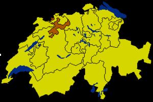 Золотурн на карте