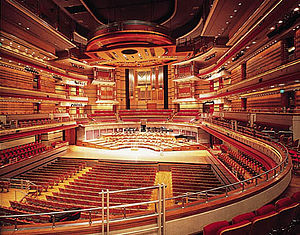 Architectural acoustics - Symphony Hall, Birmingham, an example of the application of architectural acoustics.