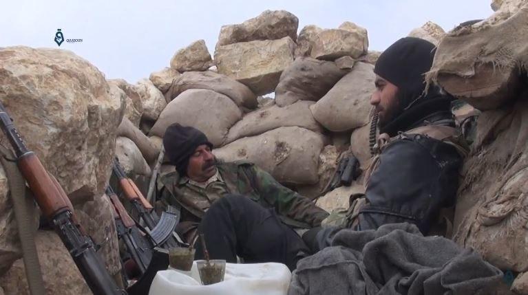Syrian rebels Tufahya Latakia 16-4-2017(3)