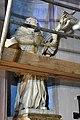 Szentgotthárd, ciszterci templom előcsarnokának Nepomuki Szent János szobra 2021 01.jpg