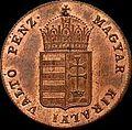 Szh 1 krajczár 1848 obverse.jpg