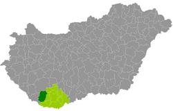 szigetvár térkép Szigetvári járás – Wikipédia szigetvár térkép
