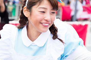 Maki Okazoe Japanese TV presenter and model