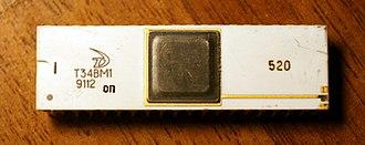 U880 - Microprocessor T34VM1 (Angstrem Zelenograd, 1991)