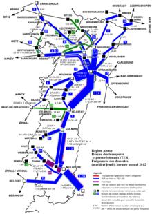 Carte Ferroviaire Alsace.Ter Alsace Wikipedia
