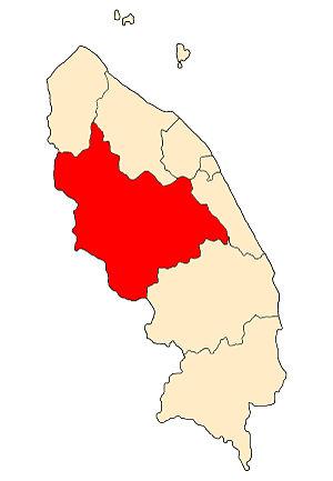 Hulu Terengganu District - Image: TG District H Trg