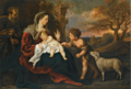 THE HOLY FAMILY WITH THE INFANT SAINT JOHN THE BAPTIST.PNG
