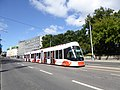 TLT tram line 4 on Pärnu maantee.jpg