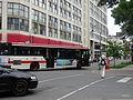 TTC bus on The Esplanade, 2015 08 08 (7) (20396833022).jpg