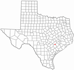 Location of Schulenburg, Texas