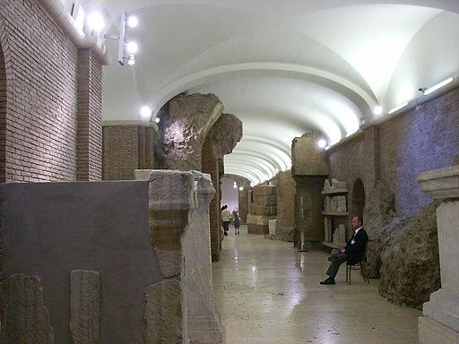 Tabularium interieur