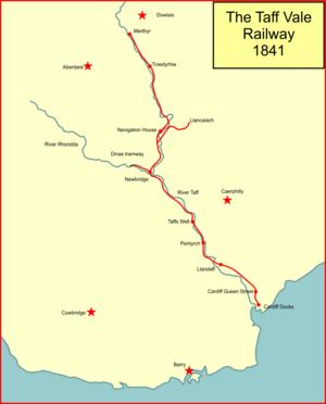 Taff Vale Railway - The Taff Vale Railway