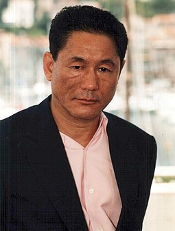 Kitano at the Cannes Film Festival in 2000. TakeshiKitano.jpg