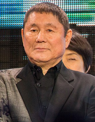 Takeshi Kitano - Kitano at the premiere of Ghost in the Shell, March 2017