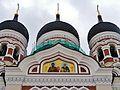 Tallinn Alexander-Newski-Kathedrale Kuppeln 1.JPG