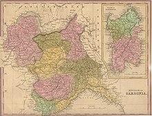 Cartina Del Regno Di Sardegna.Regno Di Sardegna 1324 1720 Wikipedia