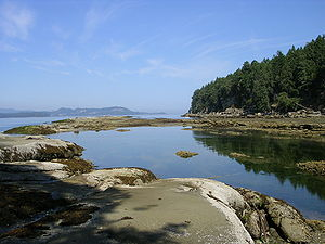 Gabriola Island - Beach at Descanso Bay