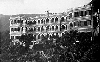 St Joseph's College (Hong Kong) - St Joseph's College at Robinson Road c. 1910