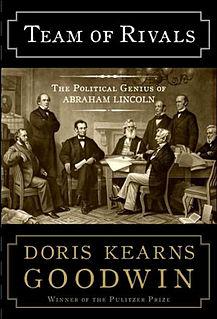 <i>Team of Rivals</i> book by Doris Kearns Goodwin