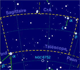 Image illustrative de l'article Télescope (constellation)