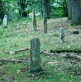 Temple Wood facsimile stone circle, looking south.JPG