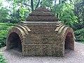 Temple of Divine Providence, ruined chapel, Warsaw University Botanical Garden.jpg