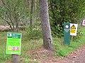 "Tents Muir ""warning signs"" - geograph.org.uk - 257768.jpg"