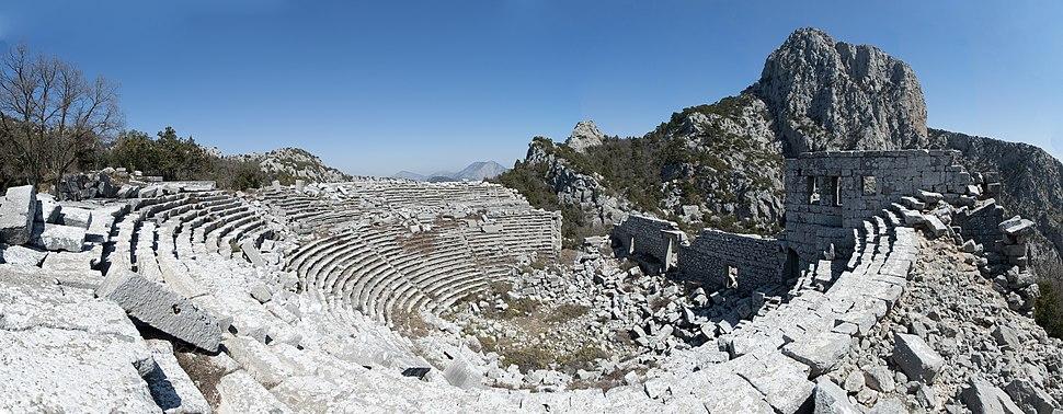 Termessos Theatre Panorama2