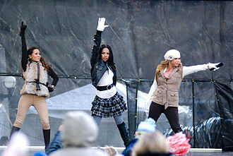 The Cheetah Girls (group) - The Cheetah Girls performing at The Magnificent Mile in 2008