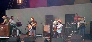 The Earlies - The Earlies performing at Summer Sundae in 2005