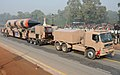 The Agni-III passes through the Rajpath during the full dress rehearsal for the Republic Day Parade-2010, in New Delhi on January 23, 2010.jpg