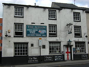 Listed buildings in Sheffield S2 - Image: The Albion, London Road