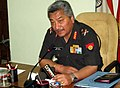 The Army Director General of Recruitment, Lt. Gen. Shakti Gurung addressing a press conference on Recruitment Policy, at Kolkata on February 27, 2013.jpg