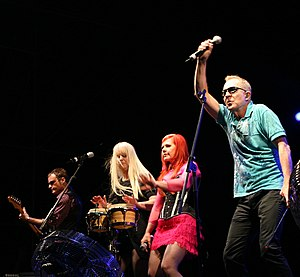 Funplex - The B-52s onstage, 2008