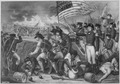 The Battle of New Orleans. January 1815. Copy of engraving by H. B. Hall after W. Momberger. - NARA - 531091.tif