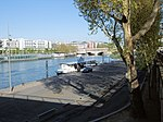 The Blues Cafe Boat Moored By The Quai de Bercy - Paris 2013.jpg