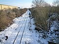 The Brentford Branch Railway looking towards the Three Bridges - geograph.org.uk - 1165271.jpg