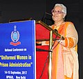 """The Chairperson, National Commission for Women (NCW), Ms. Lalitha Kumaramangalam addressing the Valedictory Session of the 2-day National Conference on """"Uniformed Women in Prison Administration"""".jpg"""