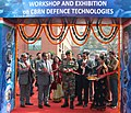 The Chief of Army Staff, General Bipin Rawat inaugurating the Exhibition on CBRN Defence Technologies to showcase products and technologies developed towards Chemical, Biological, Radiological and Nuclear threats.jpg