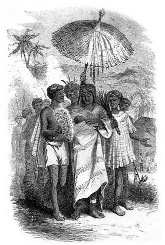 Keōpūolani - Image: The Christian Queen, page 2 (1855) (cropped)
