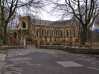 Architectural terracotta - St Stephen and All Martyrs' Church, Lever Bridge, Bolton, England