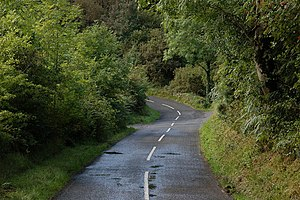 The Drumavoley Road near Ballycastle (1) The D...