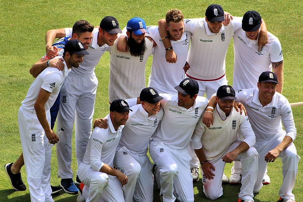 The England Cricket Team Ashes 2015