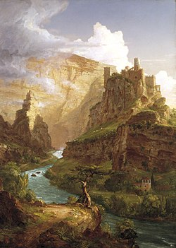 The Fountain of Vaucluse by Thomas Cole.jpg