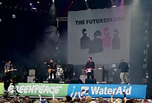 The Futureheads en concert el 2005 al Festival de Glastonbury.