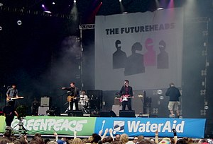 The Futureheads - The Futureheads perform at the 2005 Glastonbury Festival